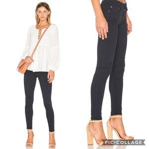 GRLFRND Candice Stretch Skinny Jean Dark Navy